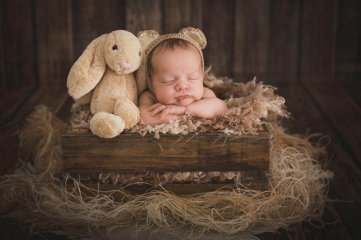 fotógrafo de recién nacido