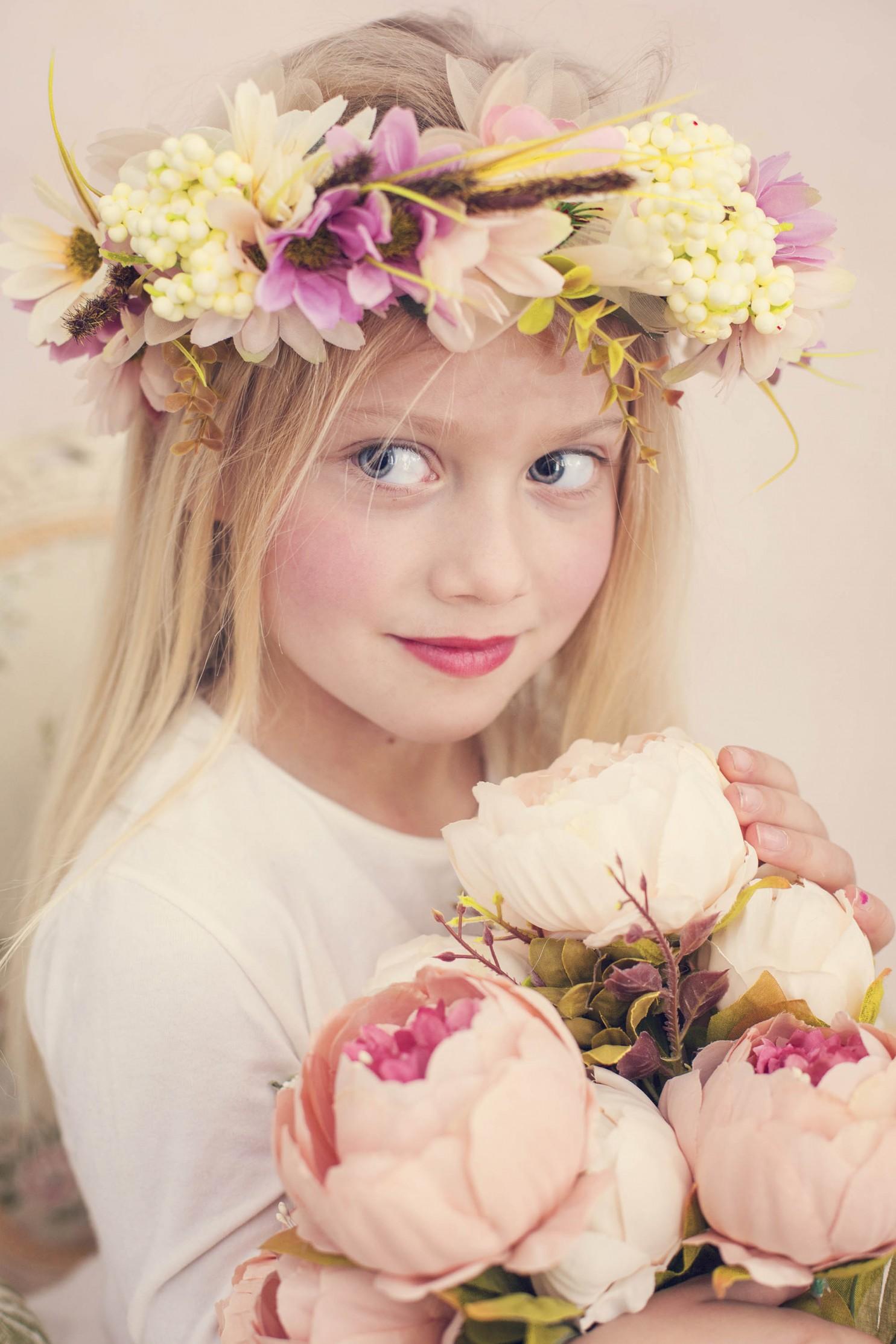 niña foto madrid