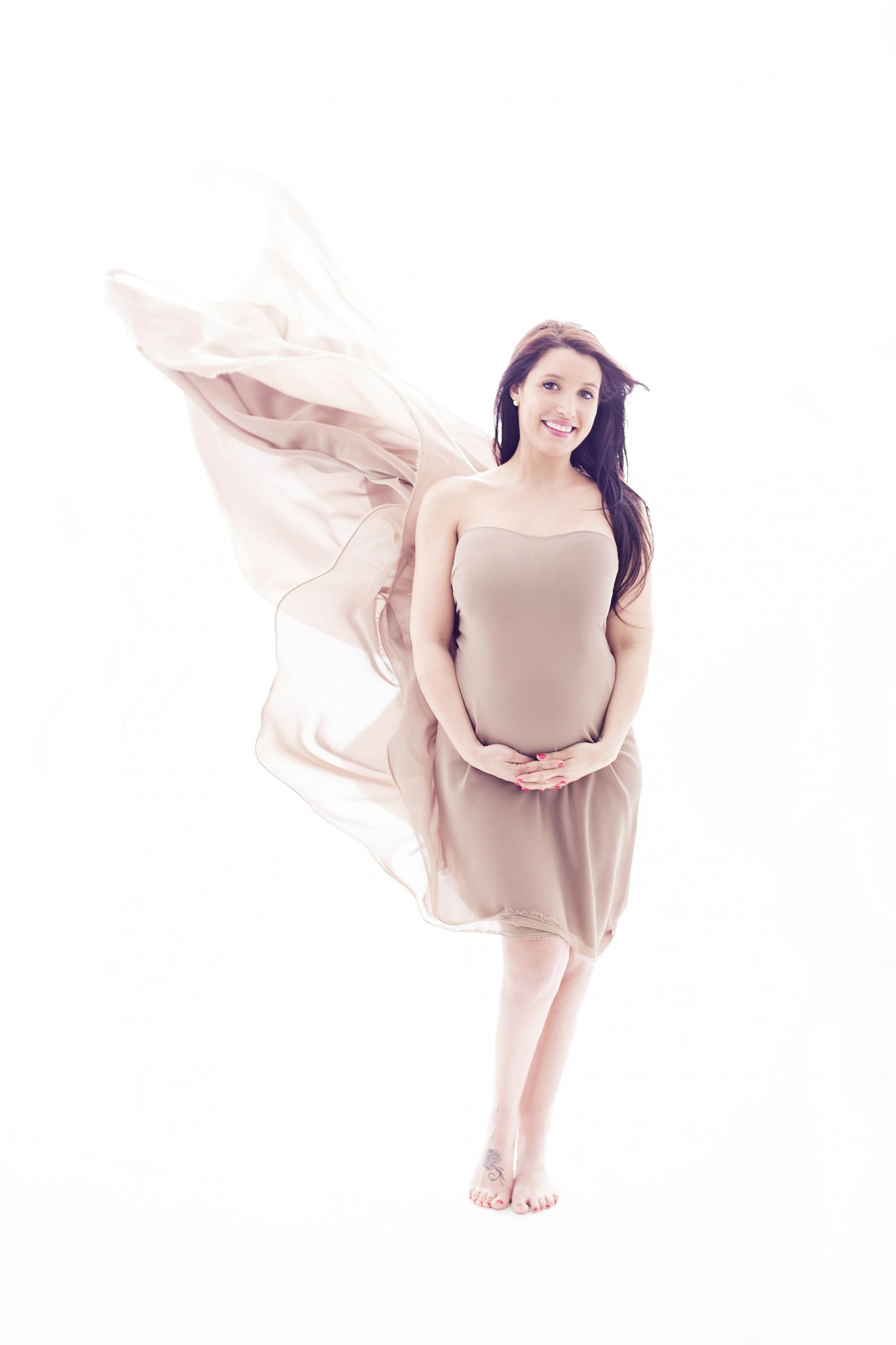 embarazada foto madrid